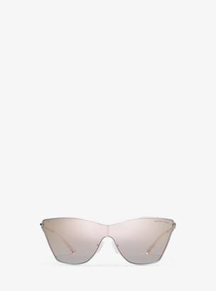 Michael Kors Larissa Sunglasses - Rose Gold