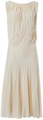 Maison Rabih Kayrouz Ecru Silk Dresses