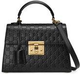 Gucci Padlock Signature top handle bag - women - Leather/metal/Microfibre - One Size