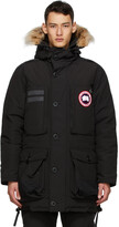 Thumbnail for your product : Canada Goose Black Down Macculloch Parka