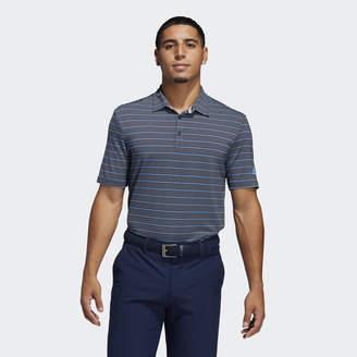 adidas Ultimate365 Pencil Stripe Polo Shirt