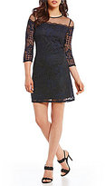 Adrianna Papell Adele Lace Shift Dress