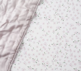Pottery Barn Kids Organic Tiny Meredith Floral Fitted Crib Sheet
