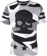 Hydrogen skull print T-shirt - men - Cotton - M