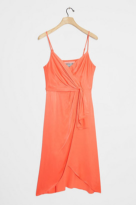 Anthropologie Giverny Midi Slip Dress By in Black Size 6