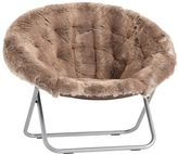 Wolf Faux-Fur Hang-A-Round-Chair
