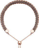Astley Clarke Kula biography 18ct rose-gold thundercloud woven bracelet