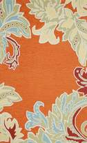 Liora Manné Ravella Ornamental Leaf Border Rug