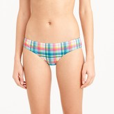 J.Crew Bikini bottom in vintage plaid