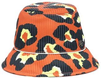 Maison Michel Souna printed bucket hat