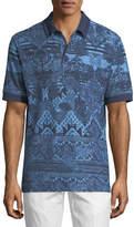 Robert Graham Koppen Paisley-Print Polo Shirt