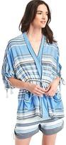 Gap Floral tassel-tie robe