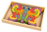BeginAgain Wooden Butterfly A to Z Puzzle