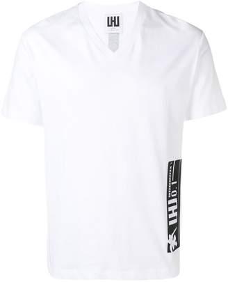 Les Hommes Urban classic v-neck T-shirt