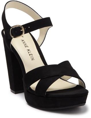Anne Klein Lakoda Strappy Block Heel Sandal