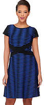 As Is SA by Seth Aaron Petite Knit Striped Dress