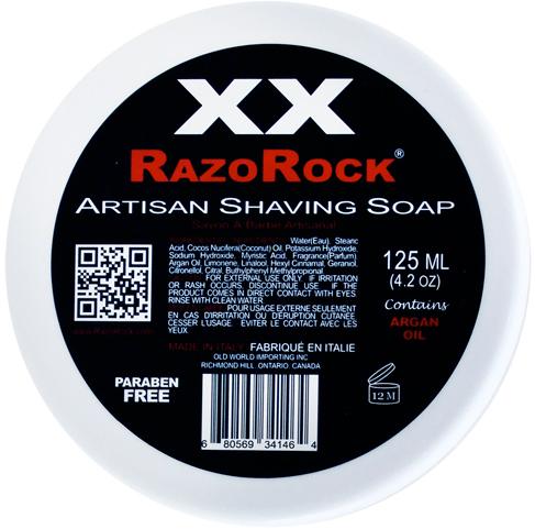 Smallflower Razorock XX Artisan Shaving Soap