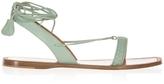 Bottega Veneta Intrecciato Ankle Tie Sandals
