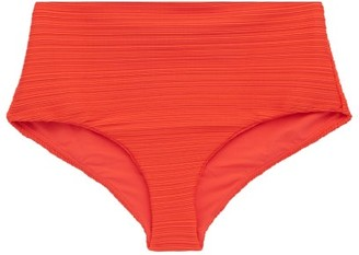 Mara Hoffman Lydia High-rise Bikini Briefs - Orange