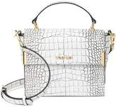 Calvin Klein Lady Croco Top Handle Crossbody
