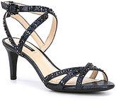Alex Marie Kandis Shimmer Fabric Dress Sandals