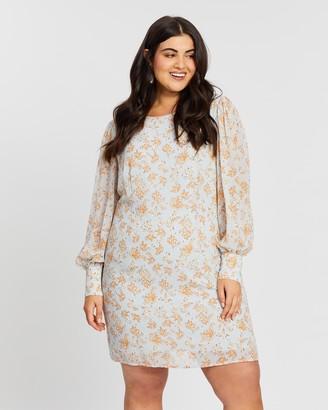 Atmos & Here Leah Tie Back Mini Dress
