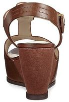 JCPenney Studio Paolo® Friction T-Strap Wedge Sandals