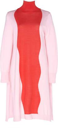DELPOZO Bi-Color Merino Wool Sweater