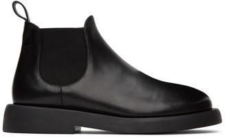 Marsèll Black Gommello Beatles Chelsea Boots