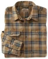 L.L. Bean Katahdin Iron Works Water-Resistant Twill Shirt, Plaid