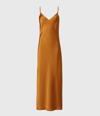 AllSaints Karla 2-In-1 Slip Dress