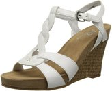 Aerosoles A2 by Women's Stone Plush Wedge Sandal