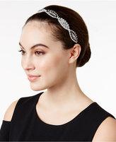 Josette Embellished Rhinestone Leaf Headband