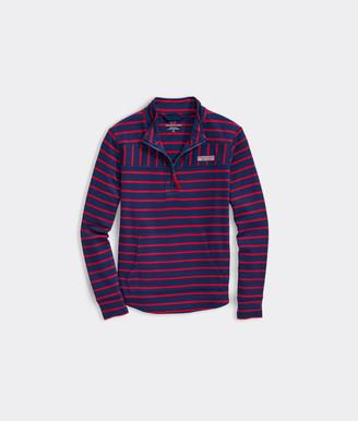 Vineyard Vines Girls' Break Stripe Relaxed Shep Shirt