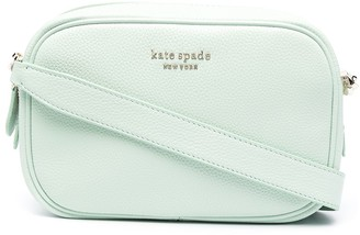 Kate Spade Zip-Up Leather Crossbody Bag