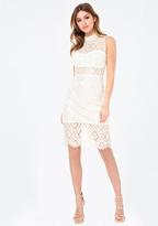 Bebe Teagan Lace Dress