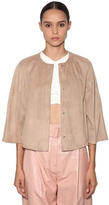 Drome Short Reversible Leather Jacket