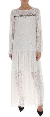 MM6 MAISON MARGIELA Lace Maxi Dress