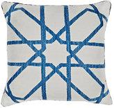 Madeline Weinrib Graham Suzani Pillow-BLUE