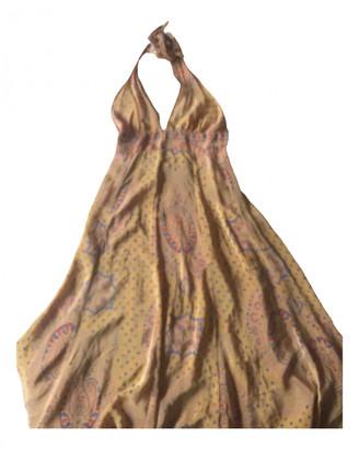 BA&SH Spring Summer 2020 Camel Silk Dresses