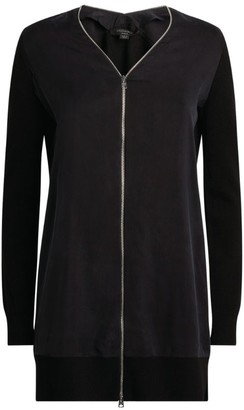 AllSaints Jamie Zip-Up Cardigan