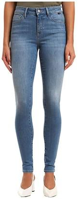 Mavi Jeans Alissa High-Rise Skinny in Light Supersoft (Light Supersoft) Women's Jeans