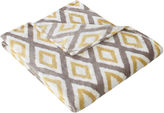 Madison Park Ikat Diamond Oversize Throw