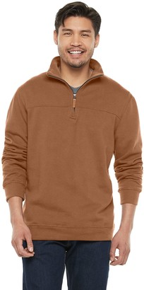 Men's Victory Outfitters Brushed-Fleece Quarter-Zip Pullover