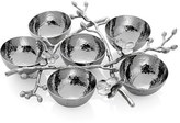 Michael Aram 'White Orchid' 6-Compartment Plate