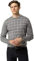 Tommy Hilfiger Windowpane Check Sweater