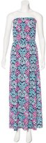Lilly Pulitzer Printed Strapless Dress