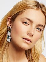 Free People Sahara Opal Plate Earrings