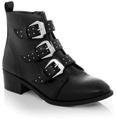 Dotti Dab Studded Buckle Boot