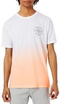 Topman Men's 1979 Print Ombre T-Shirt